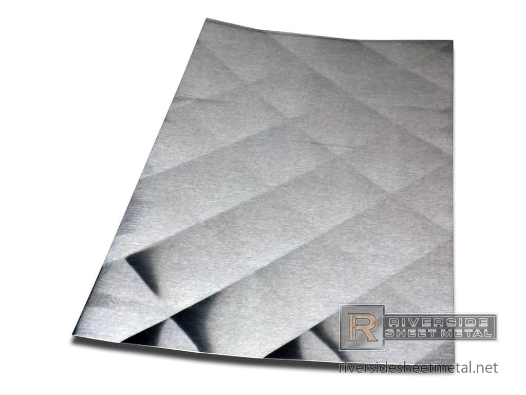 diamond pattern quilted stainless steel backsplash ma