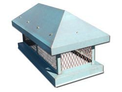 CH002 - Chimney cap with angled roof