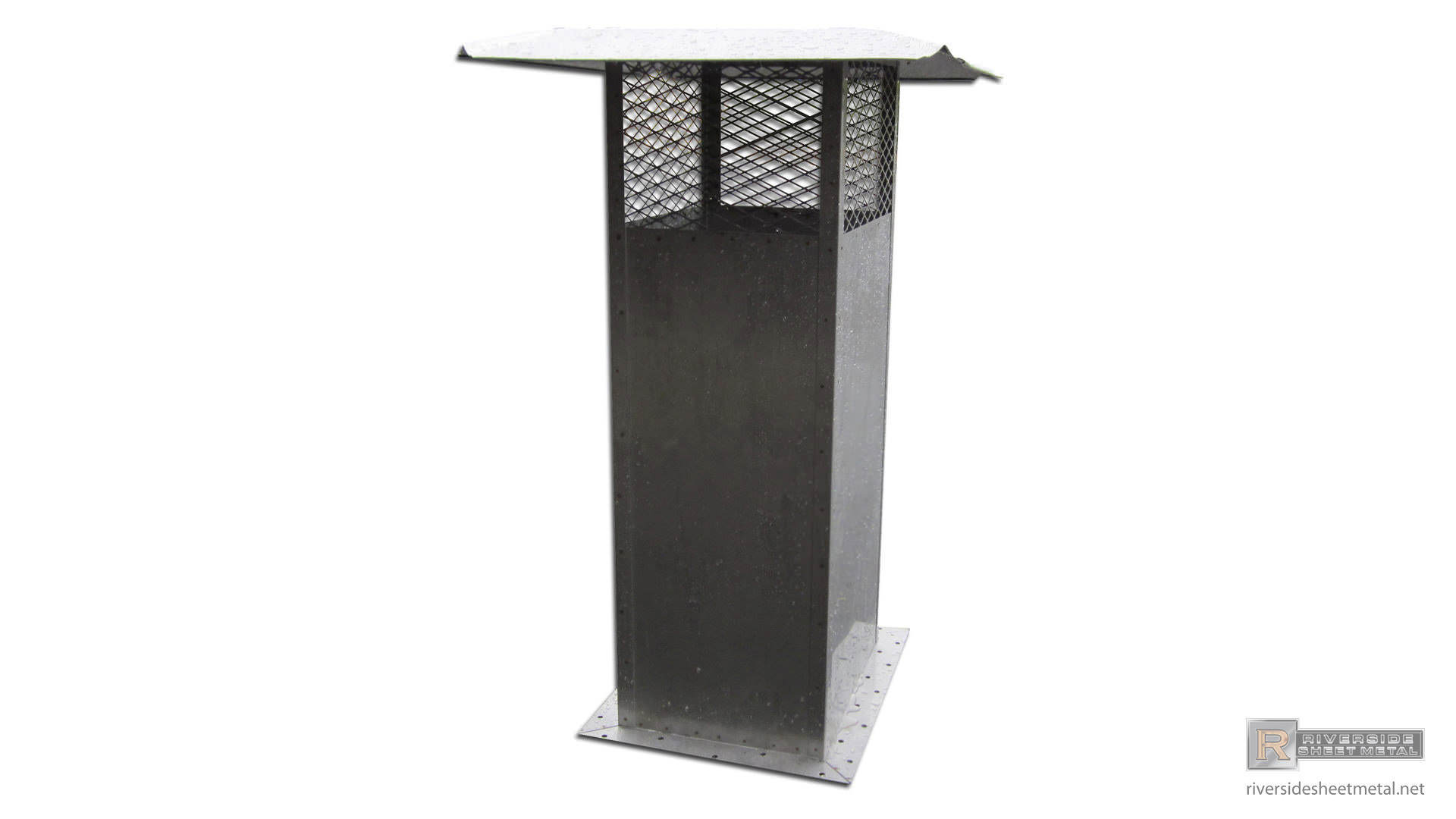 Stainless Steel Square Chimney Cap Ch009