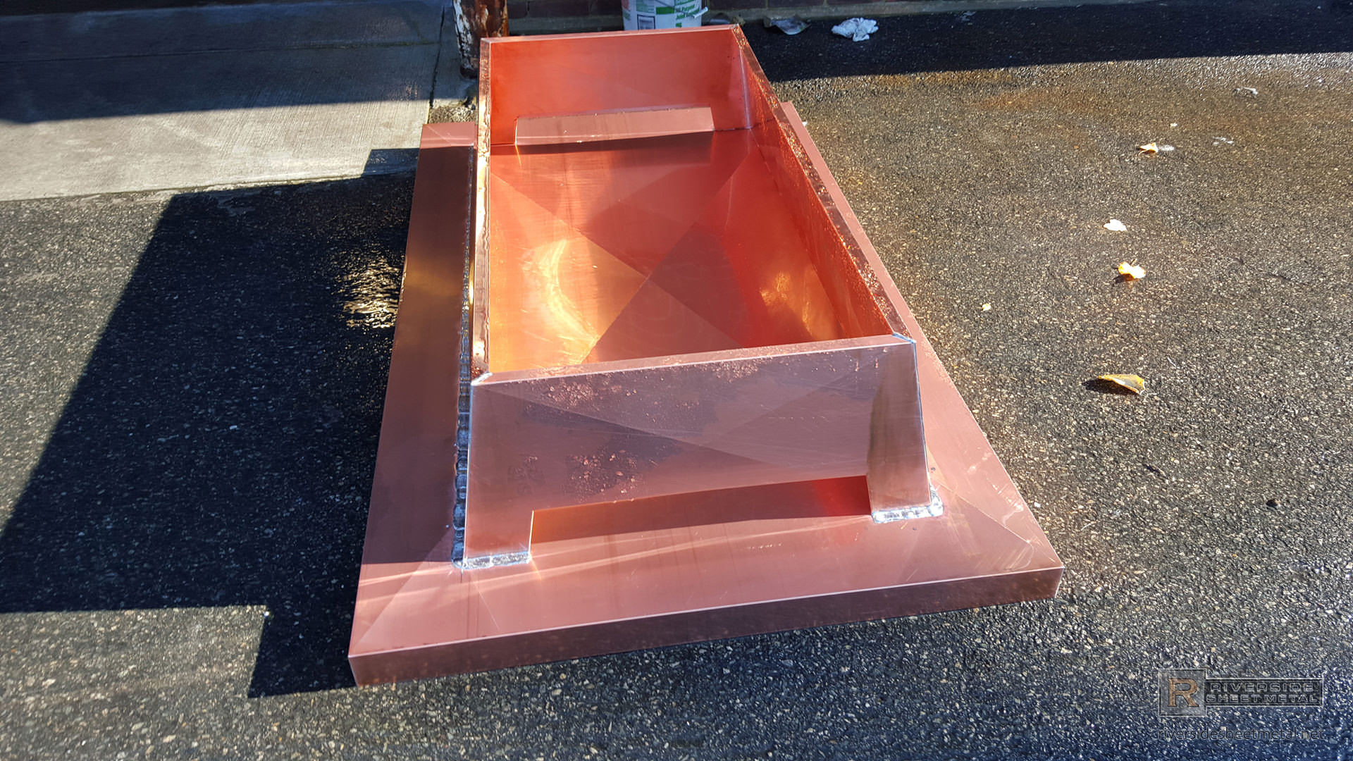 Custom Copper Chimney Cap With Flue Vent Covers Ch016