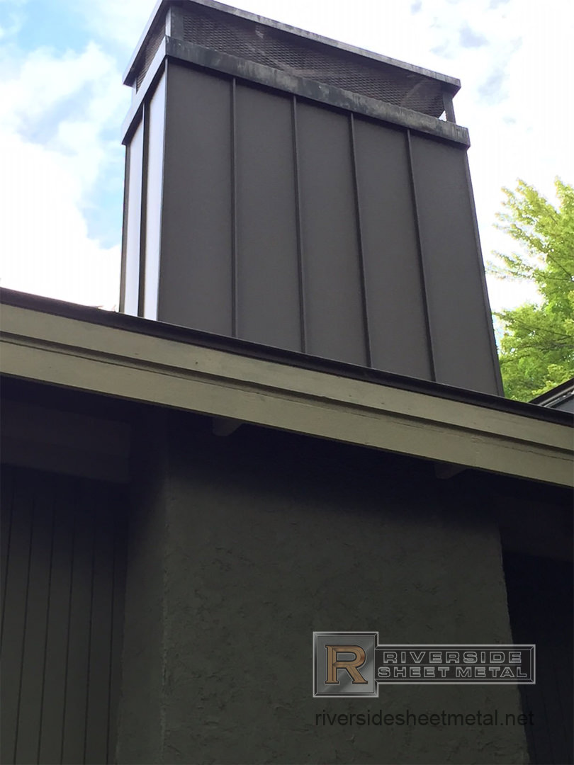 Stainless Steel Chimney Cap With 2 Stage Protection System