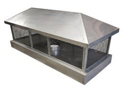 CH021 - Custom 2 stage protection chimney cap