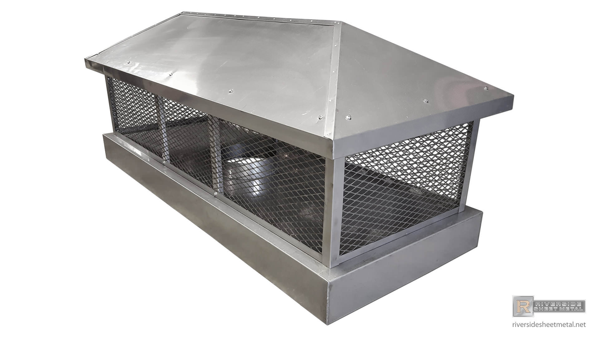Stainless Steel Custom 2 Stage Protection Chimney Cap Ch021