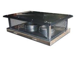 CH022 - 2 stage chimney cap standard roof