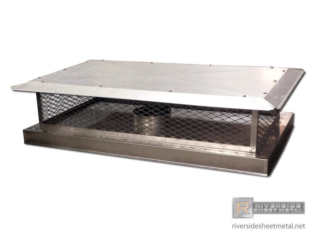 Chimney Cap With Closed Bottom And Standard Roof Ch022