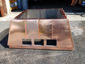 CH027 custom copper chimney shroud with standing seam panels - view 4