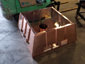 CH027 custom copper chimney shroud with standing seam panels - view 8