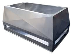 CH029 - Double stage chimney shroud with x bend