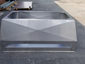CH029 Chimney shroud with vertical x-bend walls and double stage protection - view 4