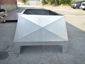 CH029 Chimney shroud with vertical x-bend walls and double stage protection - view 9