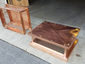 CH030 - Simple copper chimney cap with box style roof - view 3