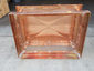 CH030 - Simple copper chimney cap with box style roof - view 7