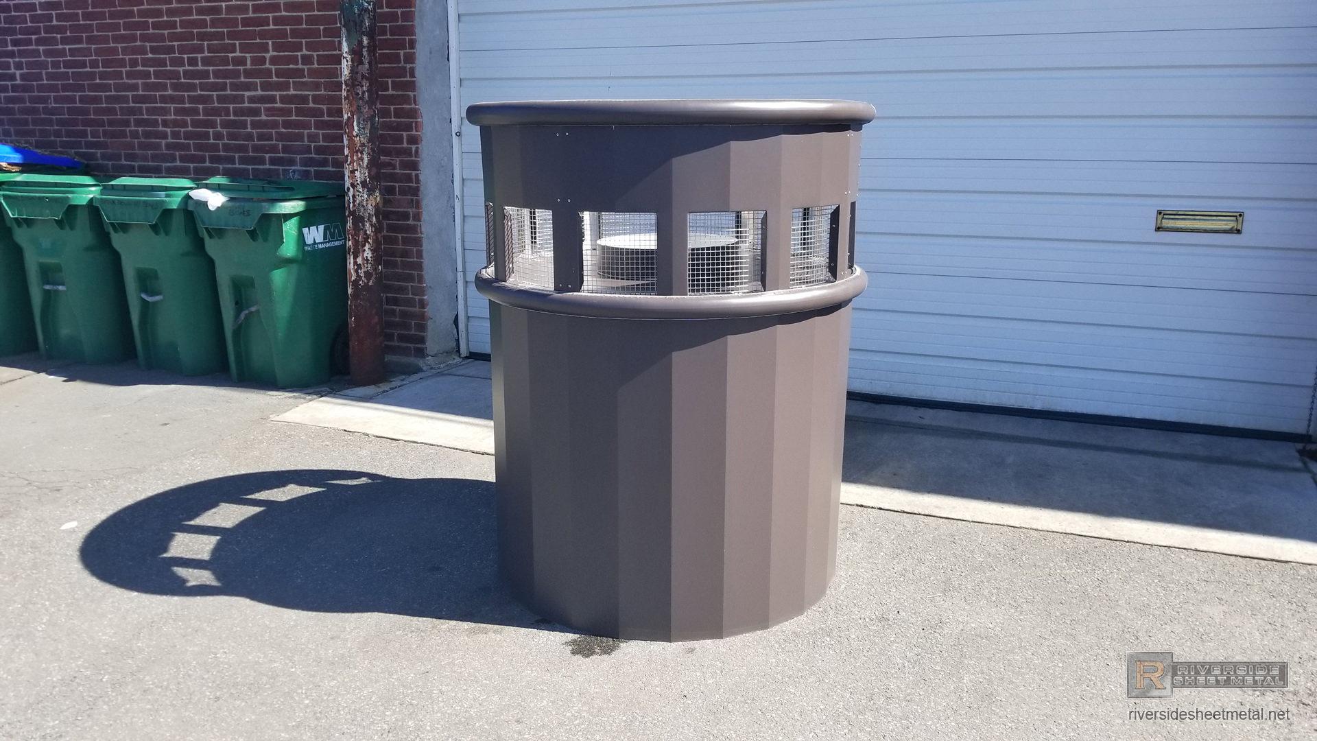 Bronze Aluminum Kynar Standing Seam Roof With Custom