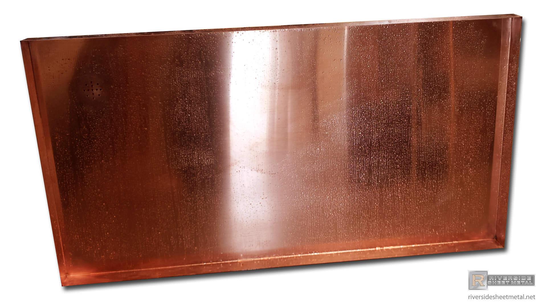 48oz Copper Shower Pan Floor