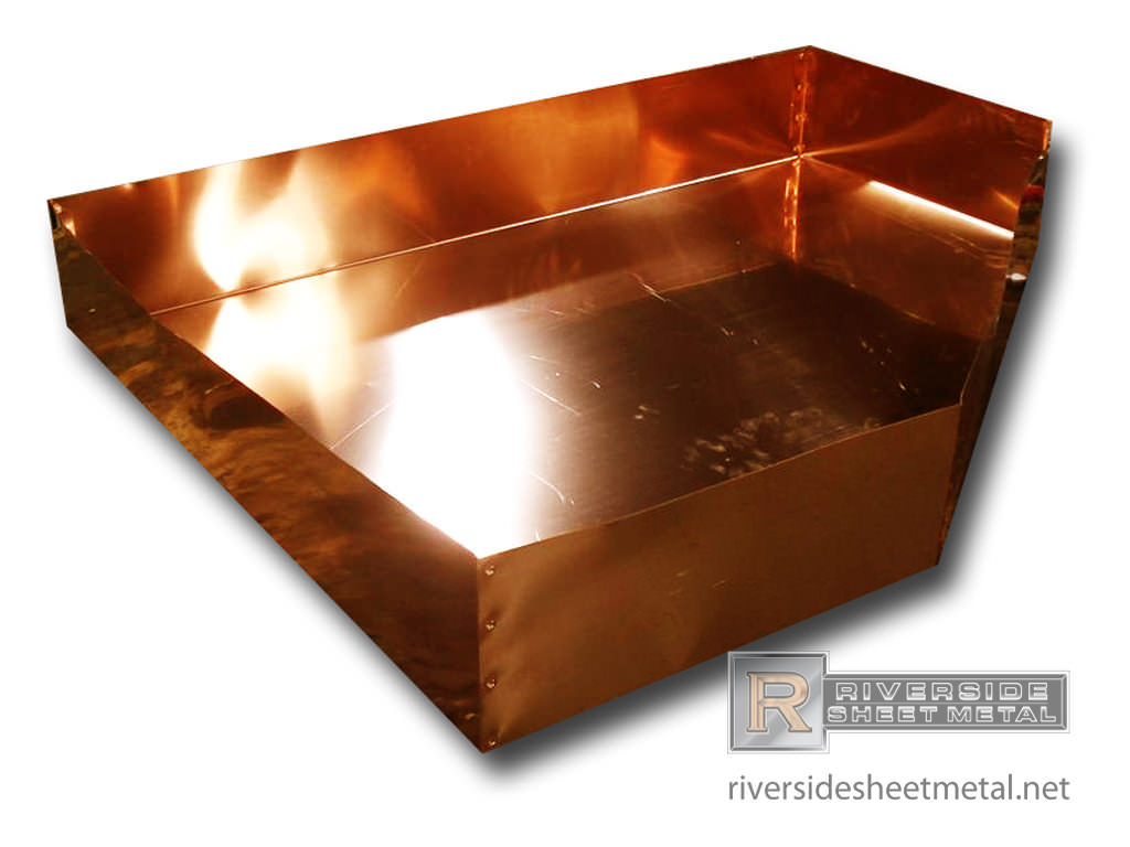 Shower Pan Copper Pans