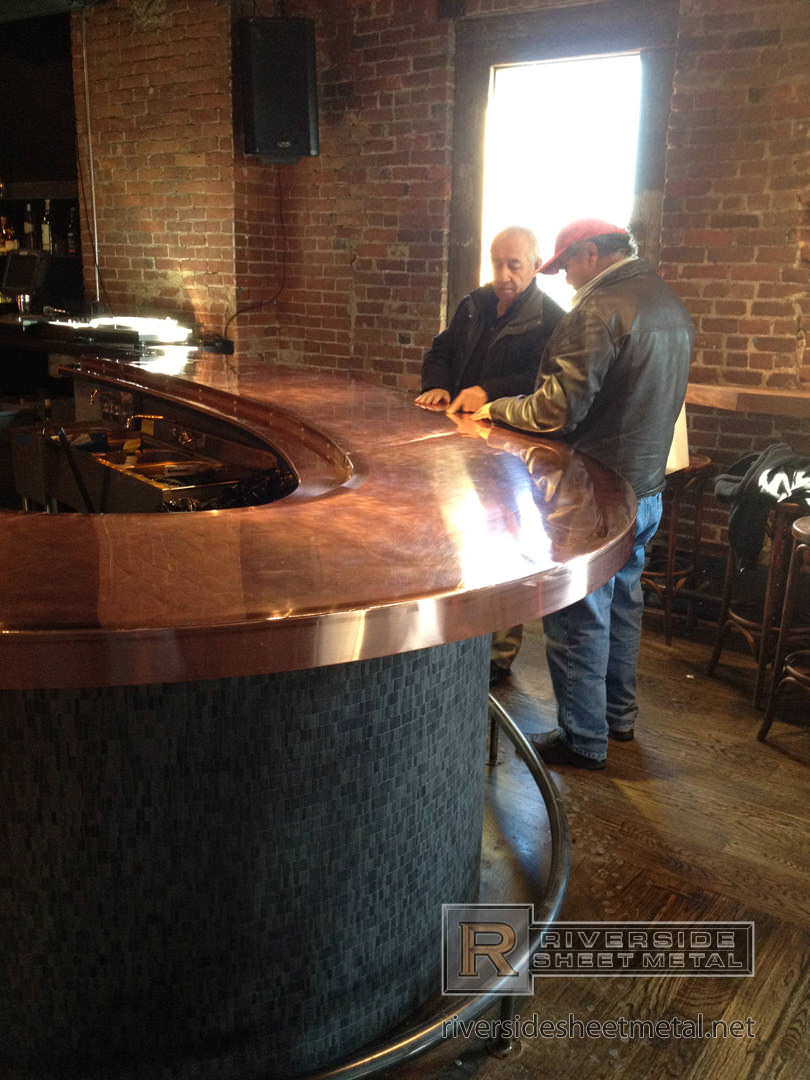 Brick And Mortar S Copper Counter Top Cambridge Ma