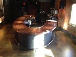 Copper bar redone with copper