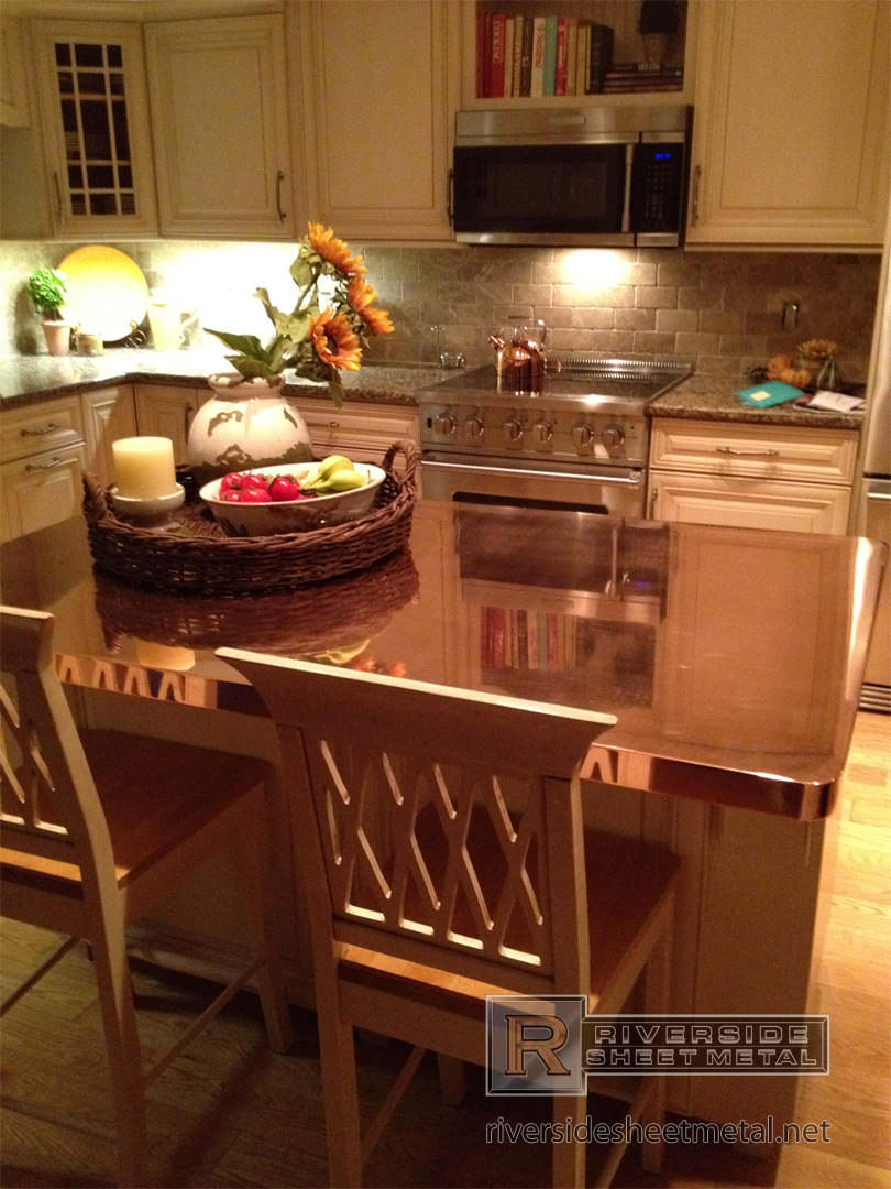 copper counter tops table tops kitchen island bars boston ma