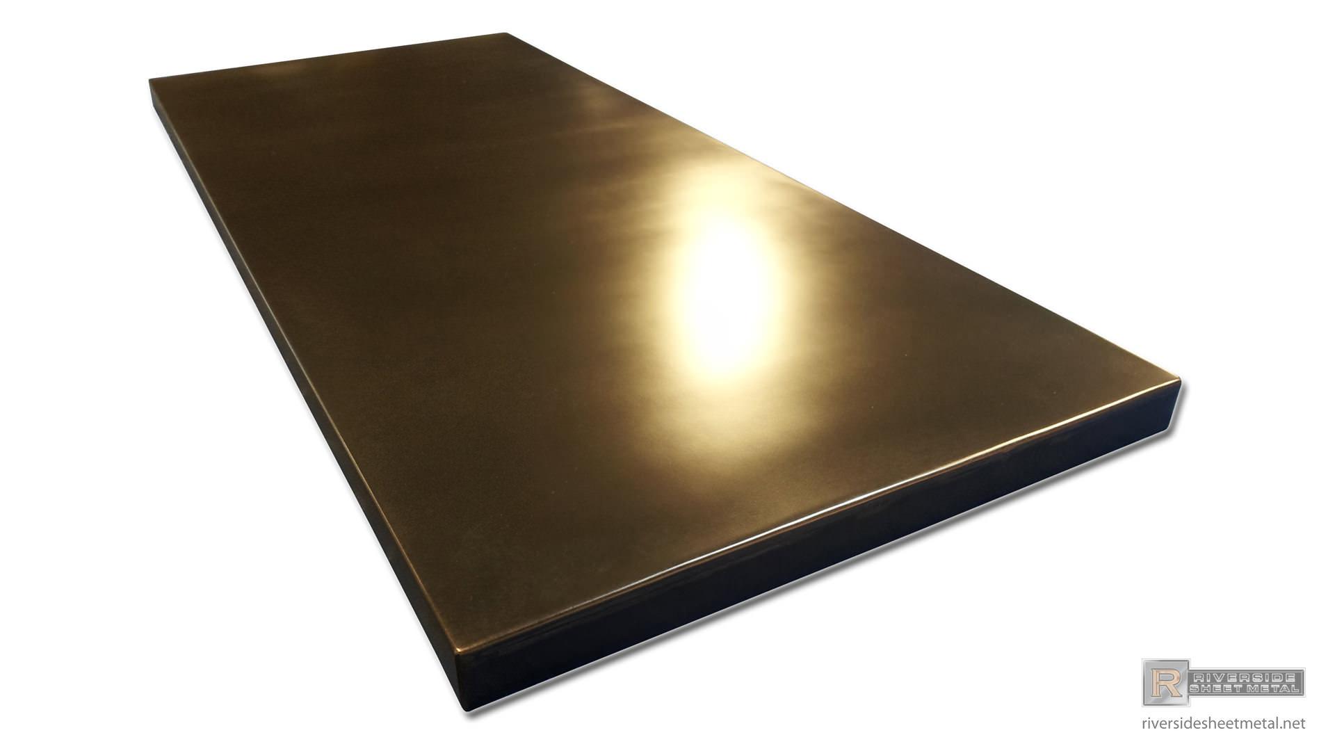 Black Patina Copper Counter Top Counter Tops