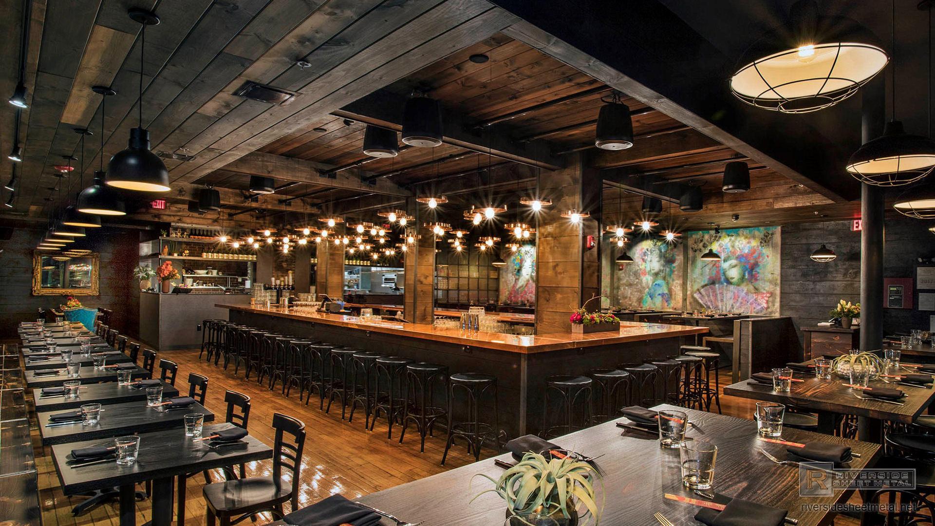 Decor Restaurant Massachusetts : Copper counter tops table kitchen island bars