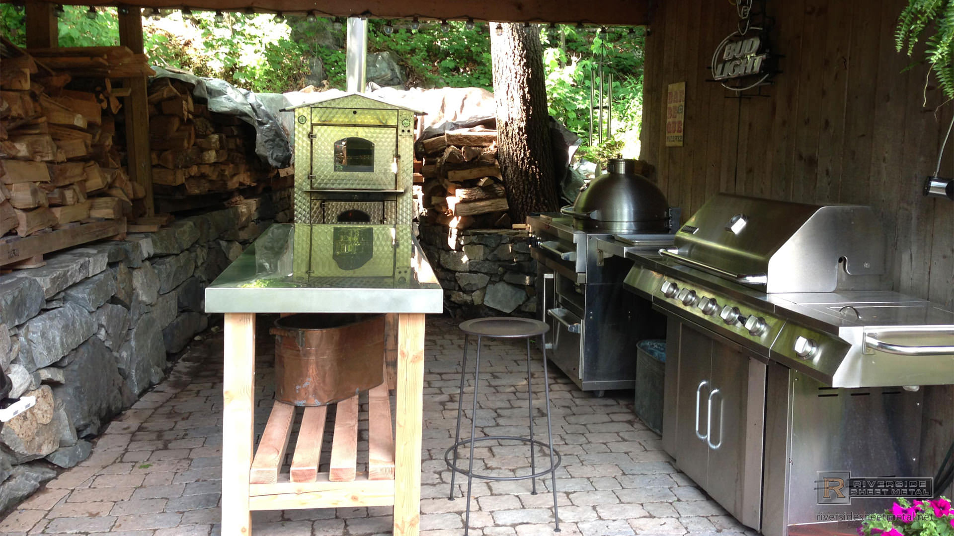Stainless Steel Top For Outdoor Kitchen Massachusetts