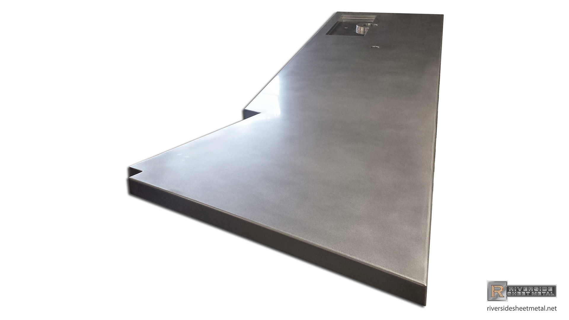 ... Stainless Steel Bar Top With Beer Tap Tray   View 3 ...