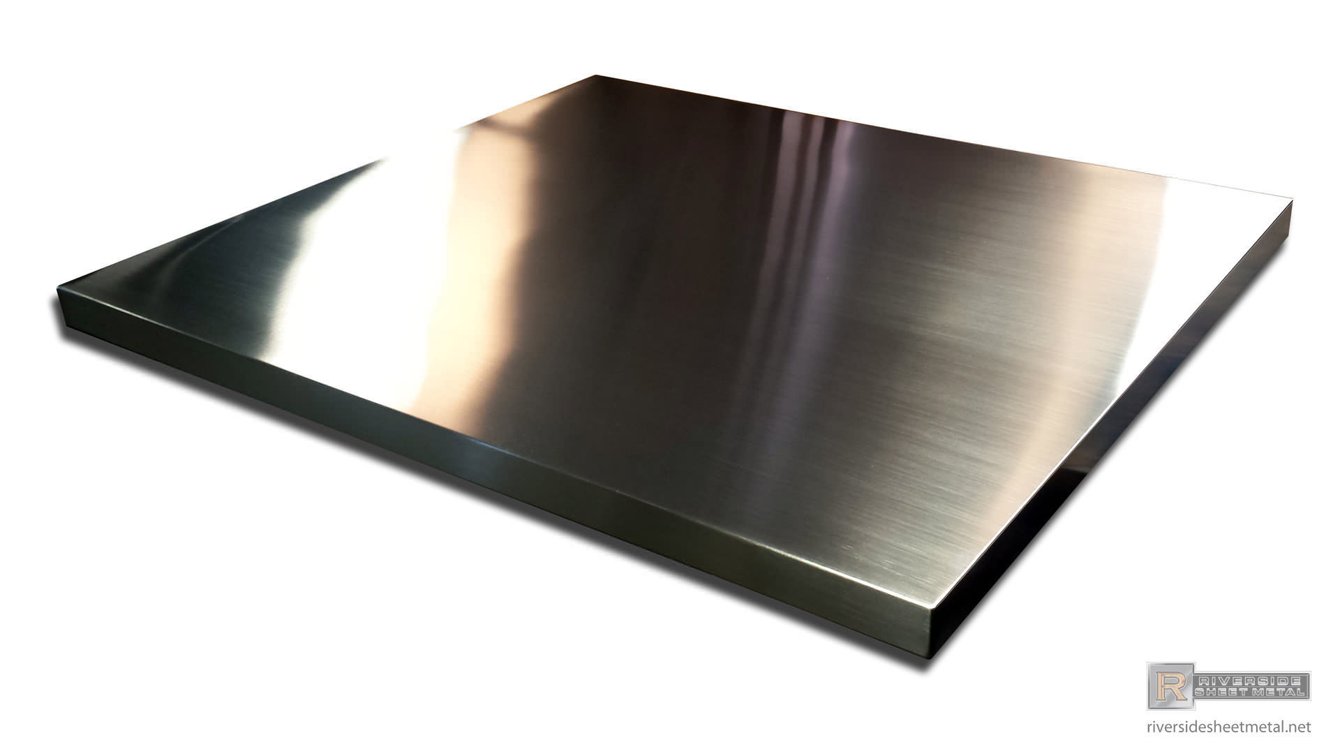 ... Zinc Table Top With Brushed Appliance Finish ...