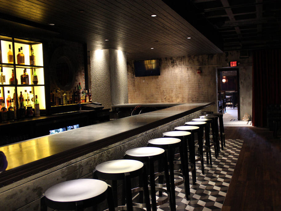 Zinc Bar Top For The Brass Union Restaurant In Somerville   Photo By Alex  Khatchadourian ...