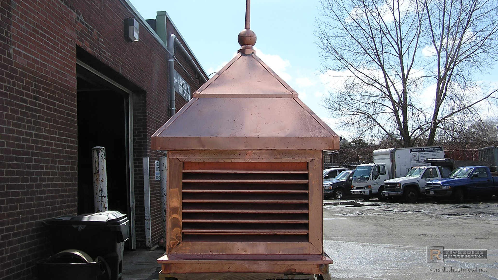 Copper Cupola And Finial Cupolas And Finials