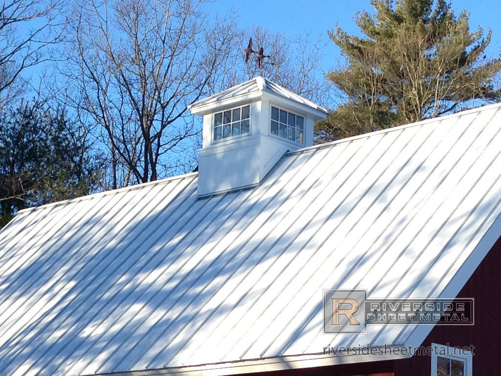 Standing Seam Metal Roof Chimney