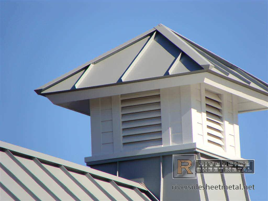 ... A Natural Wood Cupola In Three Sections Base, Middle And Top No Glass  Windows It Can Be Painted Any Color You Like And Shingled With A Metal Roof  Looks ...