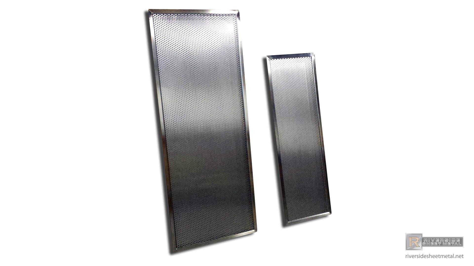 metal washing machine drain pan