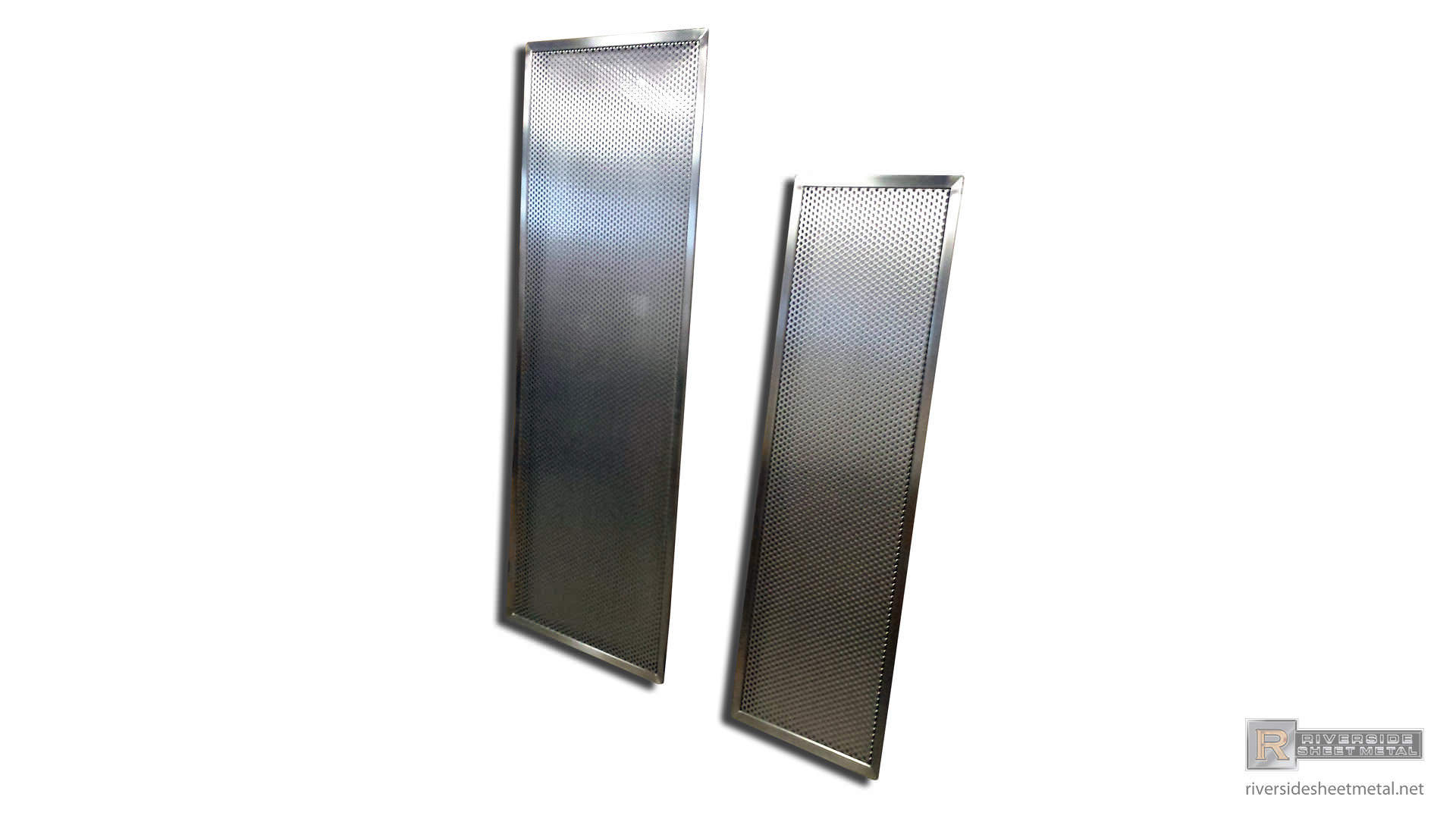 Stainless Steel Perforated Drip Pans Custom Shipped