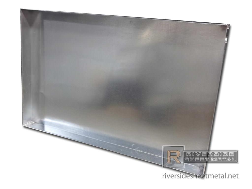 washing machine pan metal