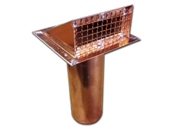 Copper dryer vent