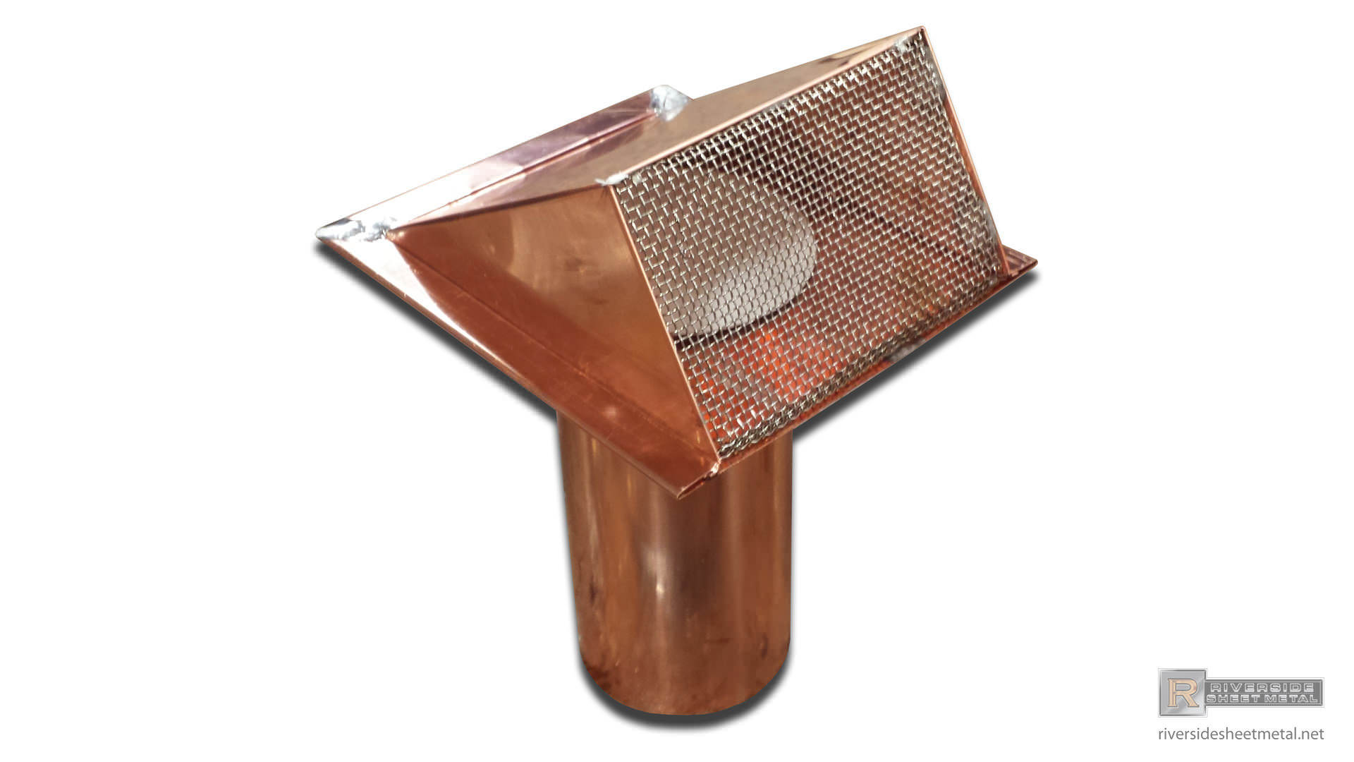 Copper Pipe Vent With Flapper Riverside Sheet Metal