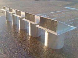 Custom freedom gray dryer vents
