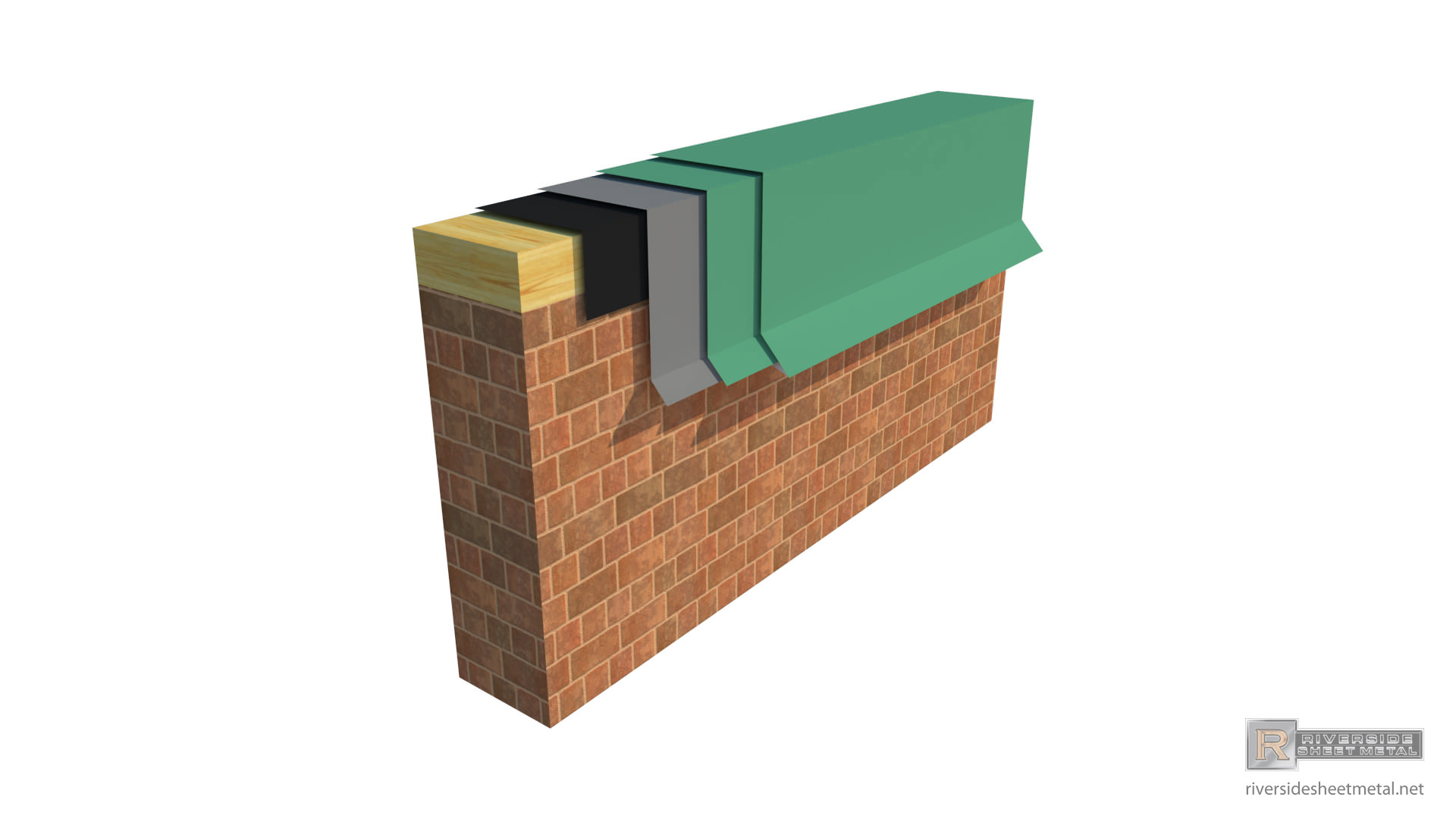 Baldy Cleat Edge Flashing Metal For Roofing Custom