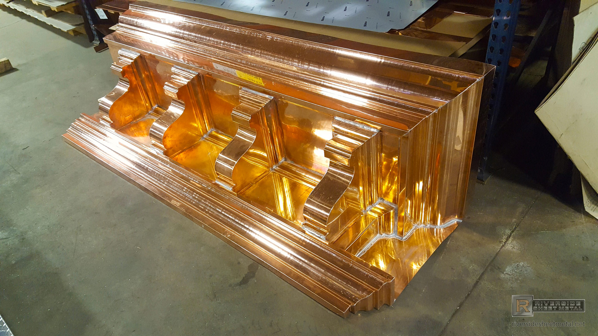 Cornice Edge Metal For Roofing Copper Aluminum