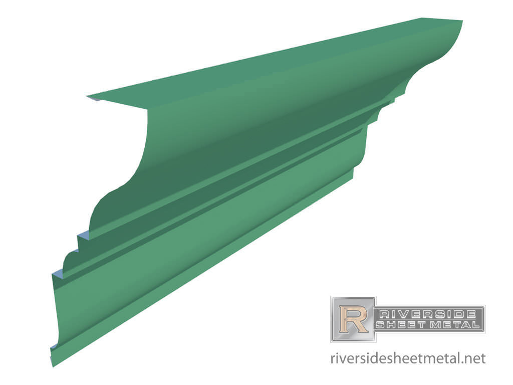 Custom Edge Metal Systems for Roofing - Riverside Sheet Metal