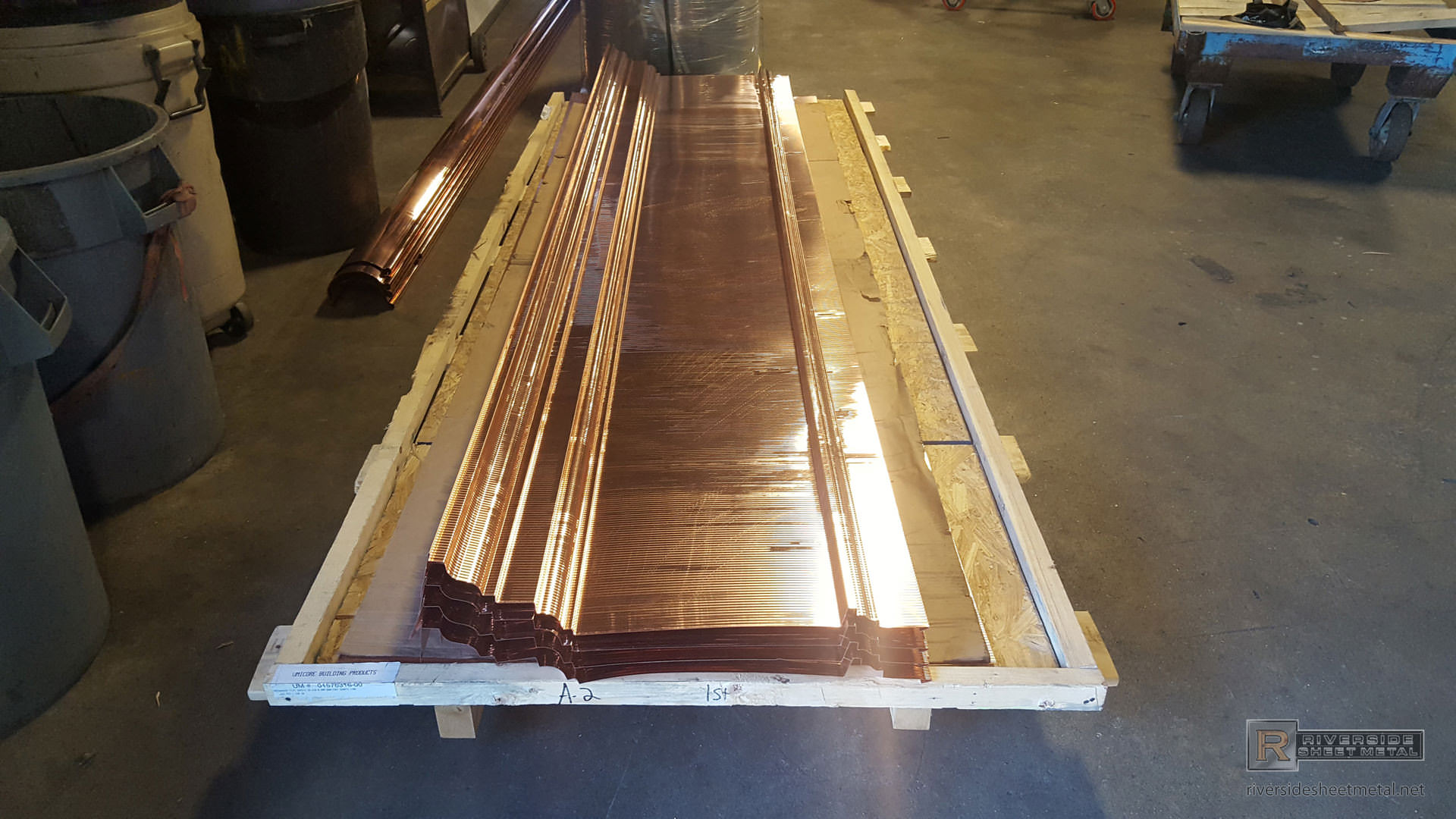 Cornice Edge Flashing Metal For Roofing Copper Aluminum
