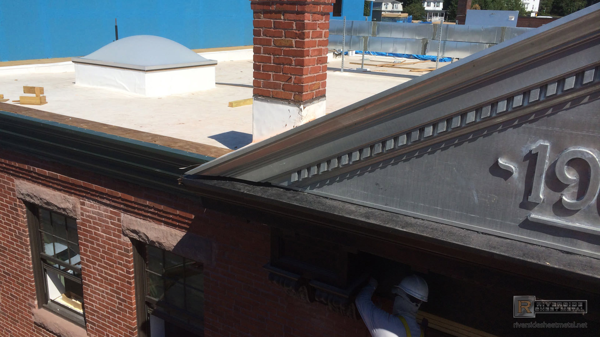 Cornice Edge Metal For Roofing Copper Aluminum
