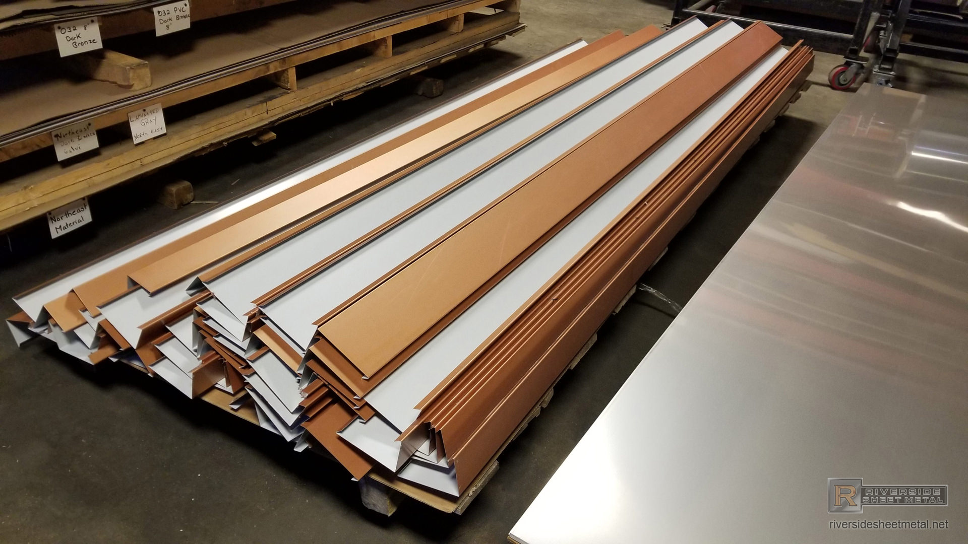 Copper Penny Sheets Amp Coils Gutters Amp Metal Roofing