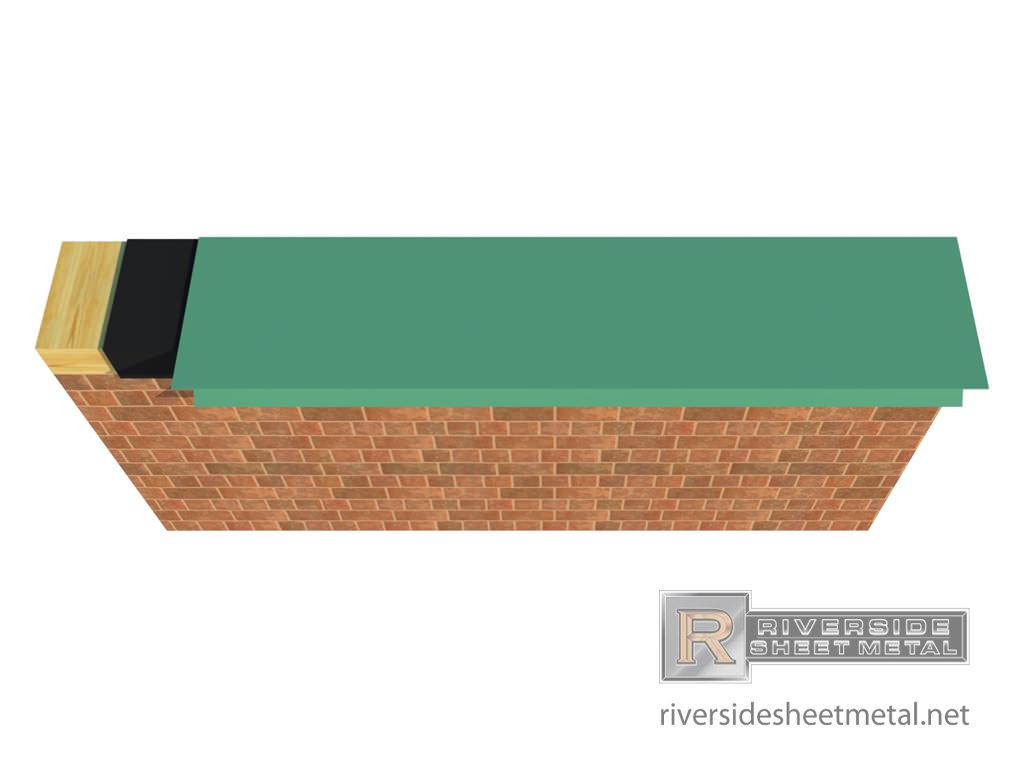 Drip Edge Flashing Metal For Slate Shingle And Metal Roofing