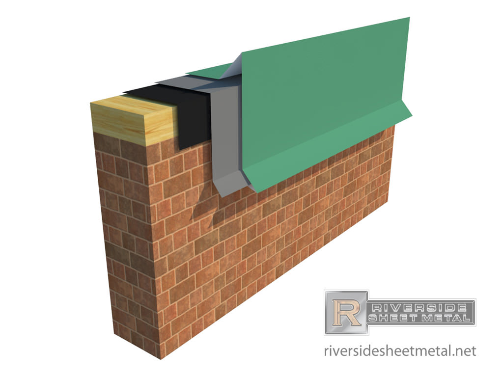 Gravel Stop Edge Metal For Roofing Straight And Radius