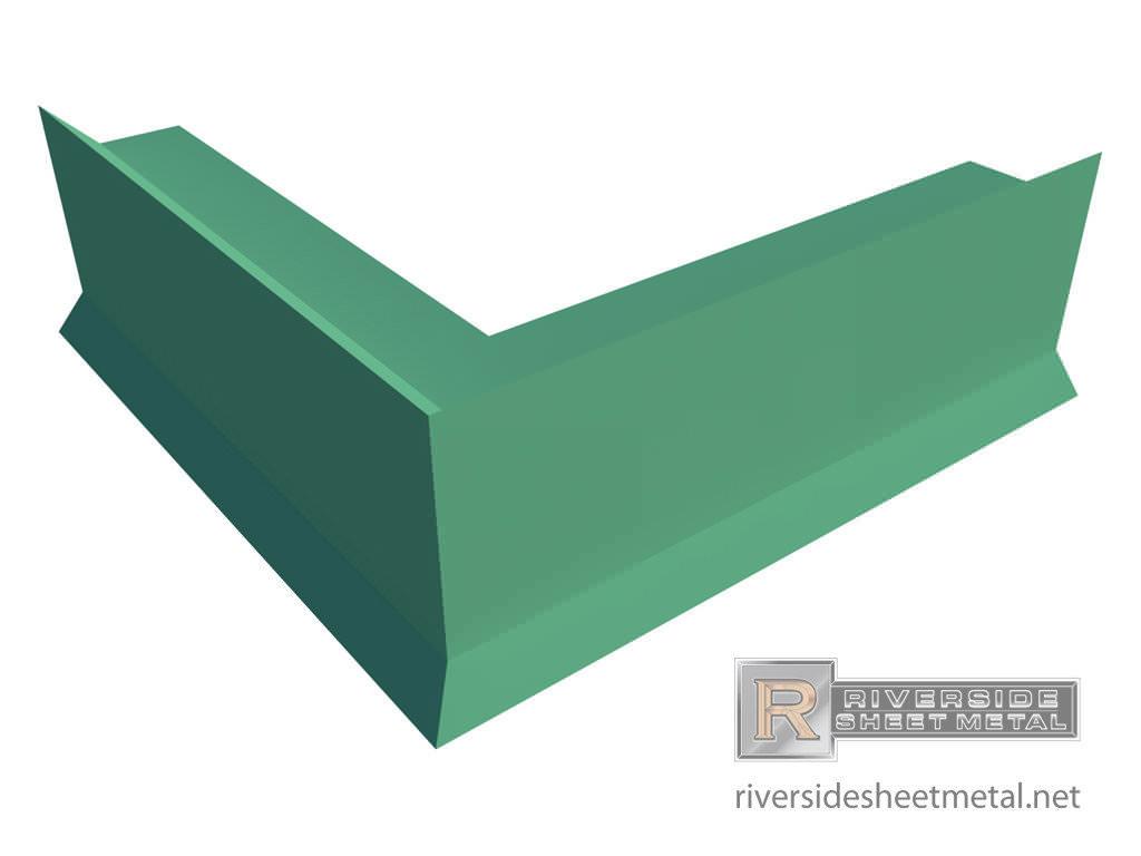 Edge Metal Miters For Roofing Riverside Sheet Metal