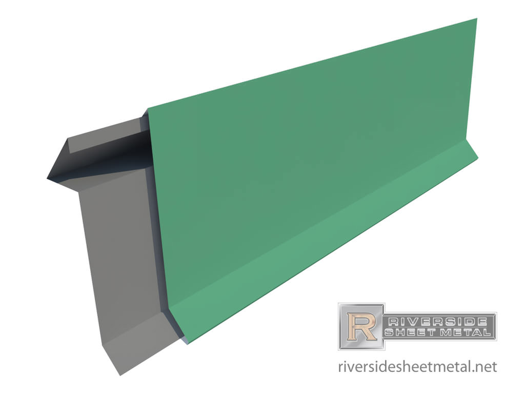 Snap Edge Fascia Metal For Roofing Straight And Radius