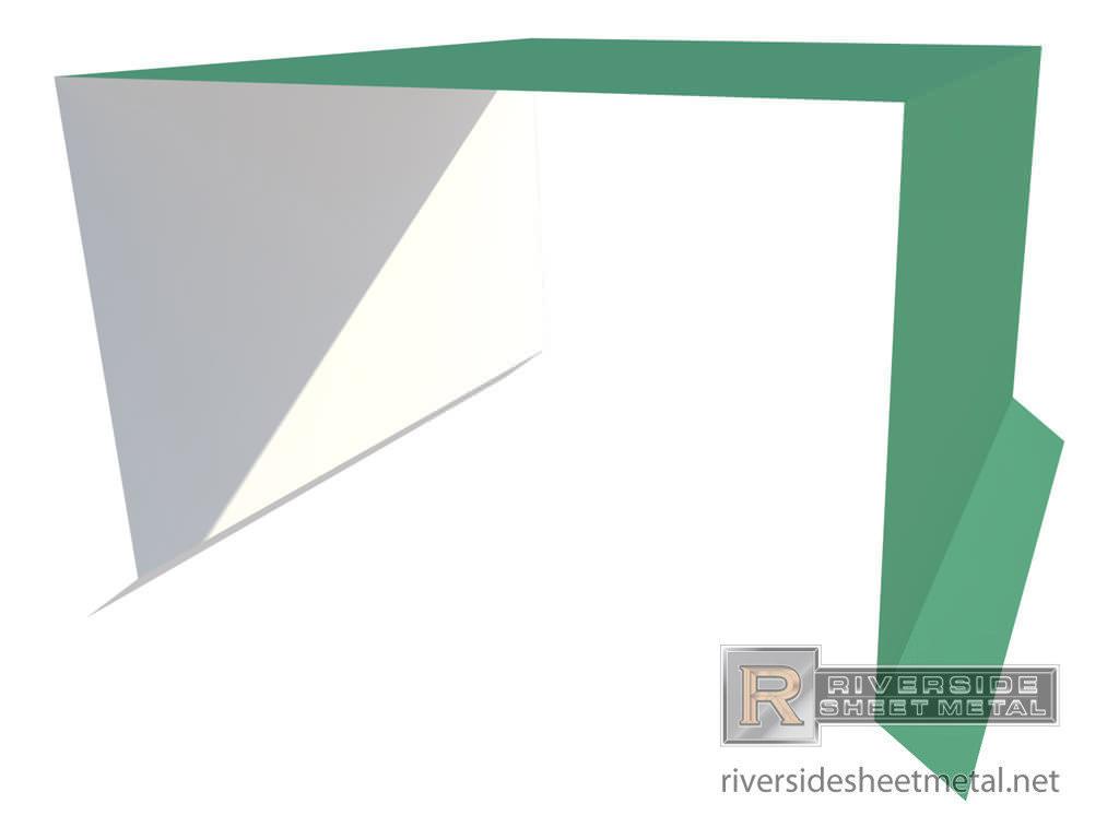 Splice Plates Metal For Edge Metal Roofing Riverside