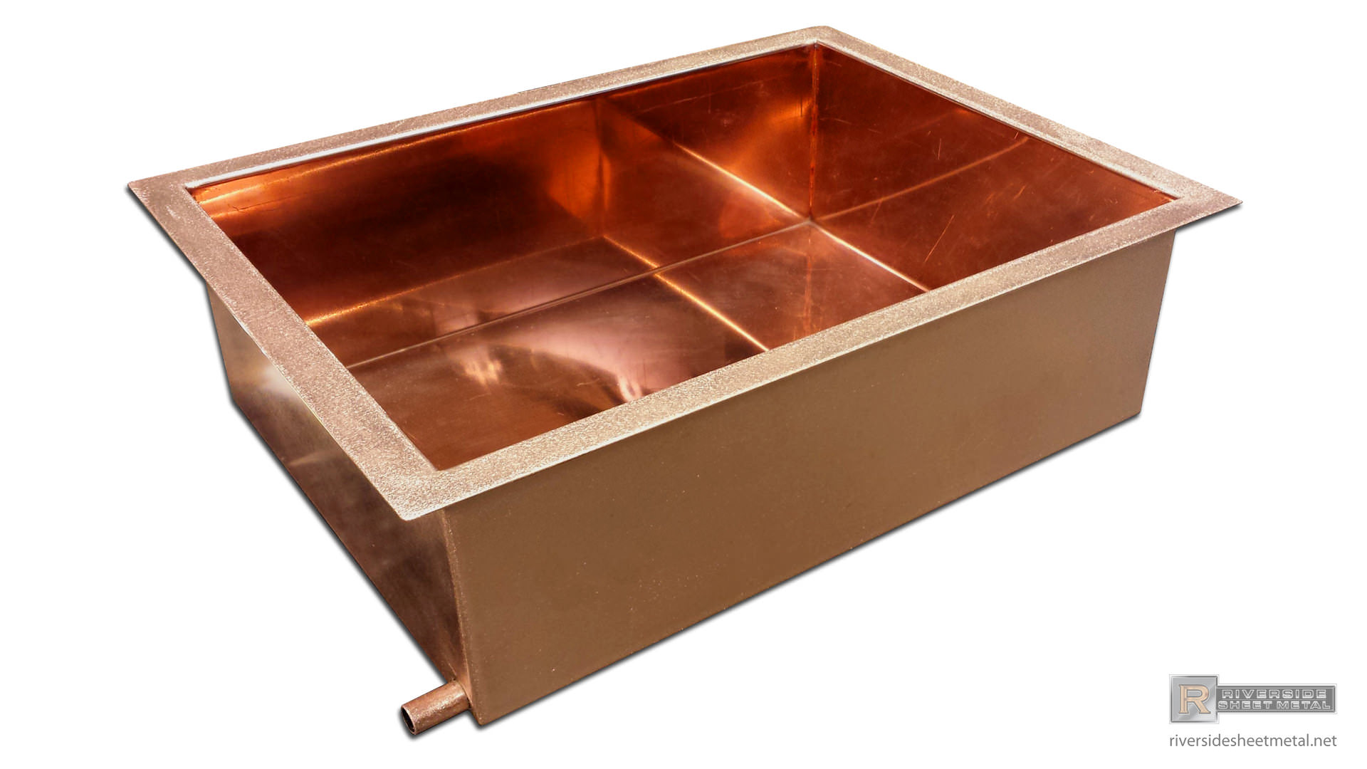 Copper Ice Trays For Food Sheet Metal Fabrication Ma