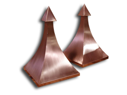 Copper ornaments